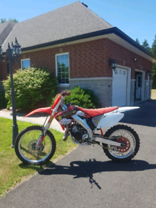 Honda CR125 Dirtbike
