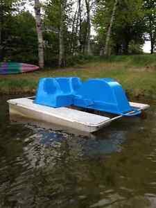 Pédalo bleu 2 places $325
