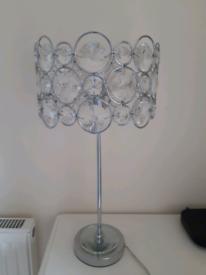Ornamental table lamp.