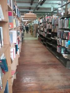 Books, art, wood, lp's,  comics plus 1000 booths