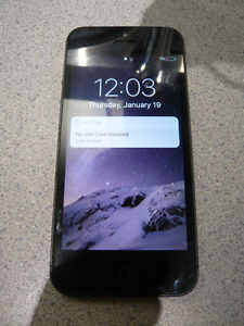 IPhone 5 Excellent Condition Brand New Battery Great Price!!