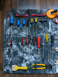 Tools and Accessories (Price is for Entire Set)