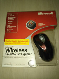 Souris Neuve Microsoft Wireless SE IntelliMouse Explorer New!