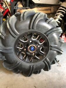 Polaris RZR wheels and Highlifter tires