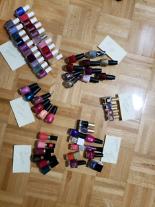 Nail polishes Essie OPI and other brands