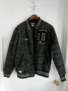 Mens 10DEEP Camo Bomber Jacket - Size Large