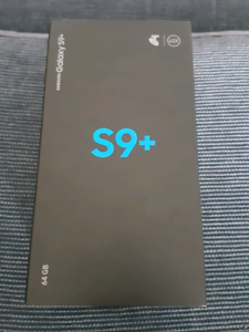 Samsung galaxy S9 Plus 64gb Black Unlocked as New condition