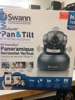 New SWANN HD Pan and Tilt Home Security Camera