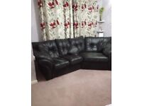 Cosy corner sofa mustang graphite 4 mths old