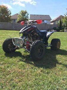 Trx300ex race built quad