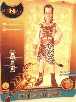 Skorpion König Kostüm Kinder L 12-14 Kostüm Kinder Groß Rubie's The Mummy (Kinder Kostüm Skorpion)