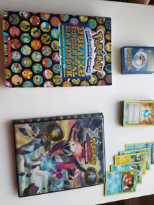 *Sold*Pokemon cards, carrying album & book $15