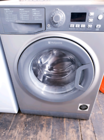 Hotpoint grey 7 kg washing machine free delivery and connect it