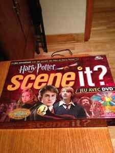 Jeu Harry Potter Scene it (neuf) + livre HP et la Coupe de feu