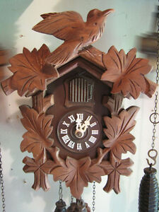 Smaller cuckoo clock for sell, just serviced, mint condition!
