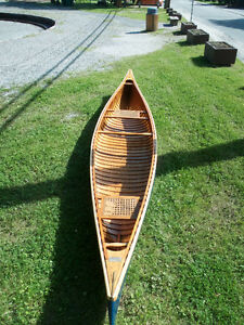 Rare 1956 Peterborough 'Mermaid' 14 foot Canoe