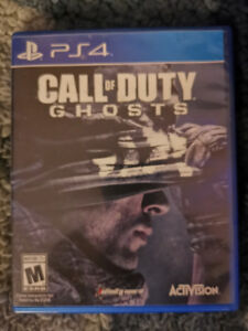 Call of Duty Ghost on PS4