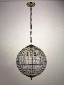 Gorgeous Antique-Style Pendant Light