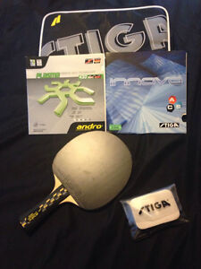 Andro professional ping pong paddle - Brand NEW (ITTF) Val=+200$
