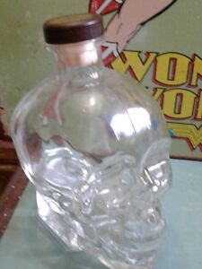 RARE VINTAGE DAN AYKROYED CRYSTAL HEAD