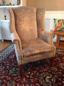 Wingback chair Kitchener / Waterloo Kitchener Area image 2