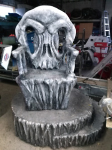 Halloween Studio Stage Prop Shivel Chair