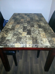 Trade dining room table for a smaller one
