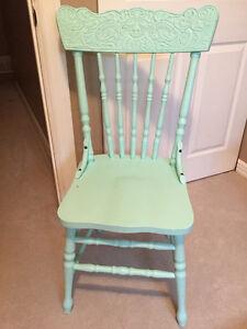 Antique Mint Chair