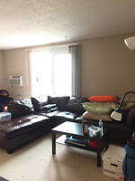 Sublet 2 bedroom apartment close to U of M
