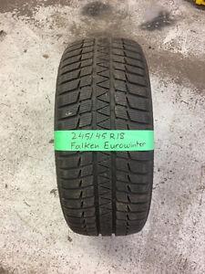 245/45R18 Falken Eurowinter winter tire (Single Tire)