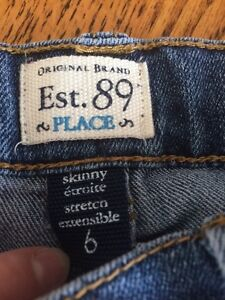 Size 6 skinny children's place jeans London Ontario image 2
