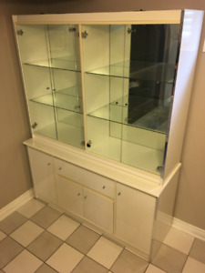 White China cabinet for sale!