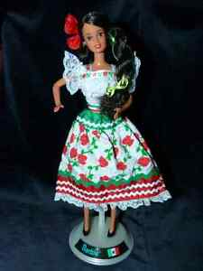 Collectible Barbie of Mexico