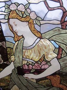 Stained Glass in Renaissance Style~~PRIMAVERA
