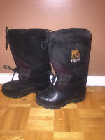 KODIAK Snowmobile Boots ladies 8W lined used