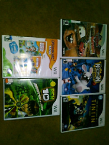 Nintendo WII GAMES LOT SALE $25 TAKES TODAY