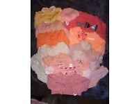 0-6m baby girl bundle
