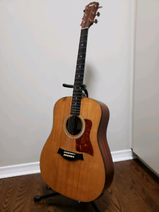 Taylor 110 Acoustic w/built in tuner/preamp