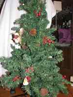 Artificial Xmas tree,