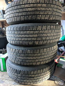 All season 205/70R15 tires