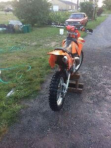 2000 ktm 380exc, selling or trade