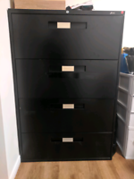 4 drawer lateral commerical filing cabinet