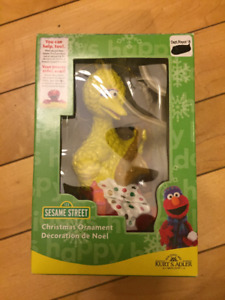 Sesame Street Big Bird Christmas Ornament - NIB  Brand new in Bo