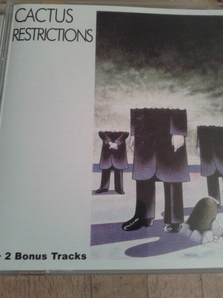 Cactus - Restrictions ,71,cd