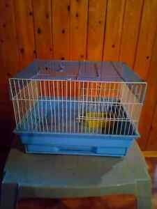 Used small cage for hamster or gerbil