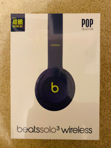 Beats by Dr Dre Solo 3 SEALED HEADPHONES - Wireless