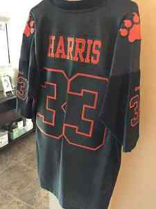 Winnipeg blue bombers / Bc lions Harris authentic jersey Size XL