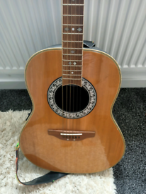 Rare ovation acoustic guitar Vintage 1980's Rare Inc