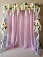 AT HOME EVENT BACKDROPS!! - Engagements, Nikkah, Bridal Showers