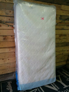 Brand New Single Mattress and Boxspring - Delivery